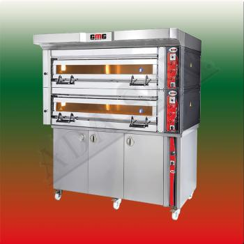 GMG Bakery & Pastry oven electric pizza oven Optima PB2M-128 4+4/ 40x60cm