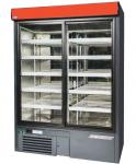 Glass door refrigerator  2-glass door, 1425mm