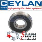 Stainless steel ball bearings for head and the back part engine