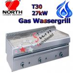North Wassergrill 27kW Gas Steakgrill Rostbräter T30