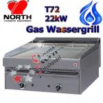 North Wassergrill 22kW Gas Steakgrill Rostbräter T72