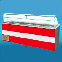 bistro line Salad casse 1500mm Idial for kebab doner pizza houses