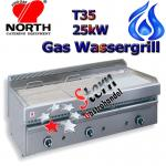 North Wassergrill 25kW Gas Steakgrill Rostbräter T35