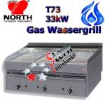North Wassergrill 33kW Gas Steakgrill Rostbräter T73
